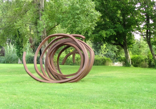 Schulte Fine Art - Sculpture by Bernar Venet