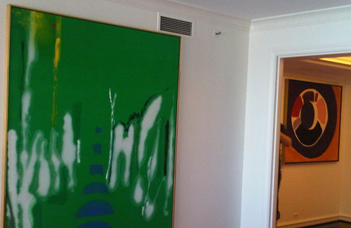 Schulte Fine Art - Paintings by Helen Frankenthaler and Jules Olitski