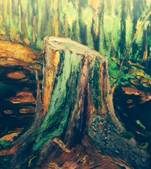 "Schulte Fine Art - Scott Bennett ""In the Woods"""